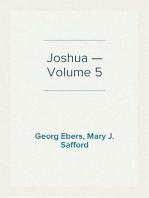 Joshua — Volume 5