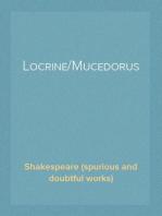 Locrine/Mucedorus