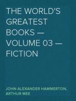 The World's Greatest Books — Volume 03 — Fiction