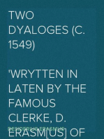Two Dyaloges (c. 1549)