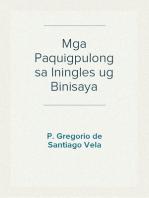Mga Paquigpulong sa Iningles ug Binisaya
