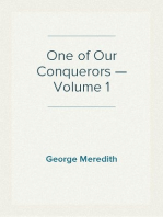 One of Our Conquerors — Volume 1