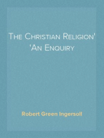 The Christian Religion An Enquiry