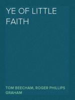 Ye of Little Faith