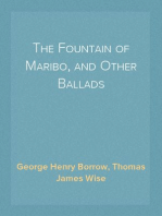 The Fountain of Maribo, and Other Ballads