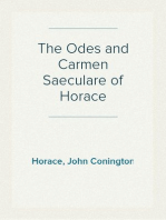 The Odes and Carmen Saeculare of Horace