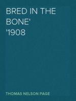 Bred In The Bone 1908