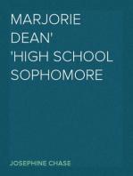 Marjorie Dean High School Sophomore