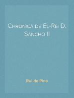 Chronica de El-Rei D. Sancho II