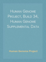 Human Genome Project, Build 34, Human Genome Supplemental Data
