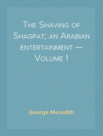 The Shaving of Shagpat; an Arabian entertainment — Volume 1