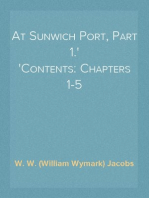 At Sunwich Port, Part 1. Contents