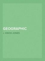Geographic Distribution of the Pocket Mouse, Perognathus fasciatus