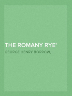 "The Romany Rye a sequel to ""Lavengro"""