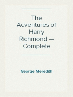 The Adventures of Harry Richmond — Complete