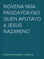 Novena nga Pagdaydayao Quen Aputayo á Jesus Nazareno