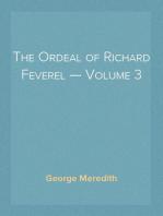 The Ordeal of Richard Feverel — Volume 3