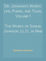 Dr. Johnson's Works