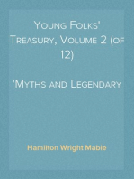 Young Folks' Treasury, Volume 2 (of 12) Myths and Legendary Heroes