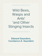 Wild Bees, Wasps and Ants and Other Stinging Insects