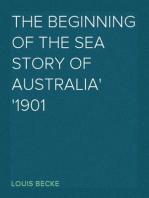 The Beginning Of The Sea Story Of Australia 1901