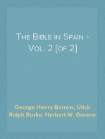 The Bible in Spain - Vol. 2 [of 2]