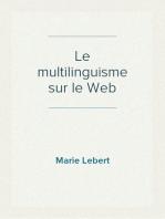Le multilinguisme sur le Web