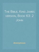 The Bible, King James version, Book 63