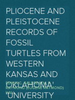 Pliocene and Pleistocene Records of Fossil Turtles from Western Kansas and Oklahoma University of Kansas Publications Museum of Natural History Volume 1