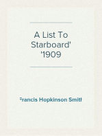 A List To Starboard 1909
