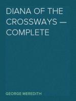 Diana of the Crossways — Complete