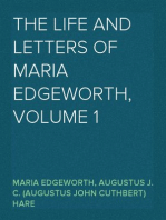The Life and Letters of Maria Edgeworth, Volume 1