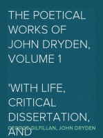 The Poetical Works of John Dryden, Volume 1