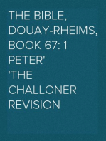 The Bible, Douay-Rheims, Book 67