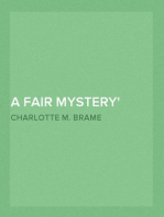 A Fair Mystery The Story of a Coquette