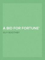A Bid for Fortune or Dr. Nikola's Vendetta