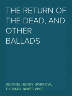 The Return of the Dead, and Other Ballads
