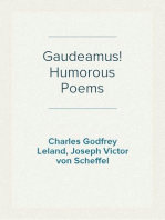 Gaudeamus! Humorous Poems