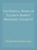 The Poetical Works of Elizabeth Barrett Browning, Volume IV