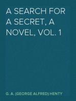 A Search For A Secret, a Novel, Vol. 1