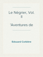 Le Négrier, Vol. II Aventures de mer