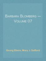 Barbara Blomberg — Volume 07
