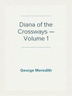 Diana of the Crossways — Volume 1