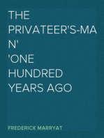 The Privateer's-Man One hundred Years Ago