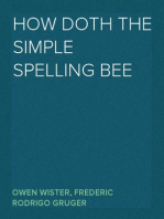 How Doth the Simple Spelling Bee