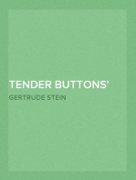 Tender Buttons Objects—Food—Rooms