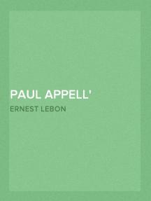 Paul Appell Biographie, Bibliographie Analytique des Écrits