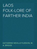 Laos Folk-Lore of Farther India