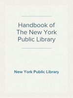 Handbook of The New York Public Library