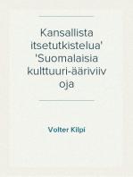 Kansallista itsetutkistelua Suomalaisia kulttuuri-ääriviivoja